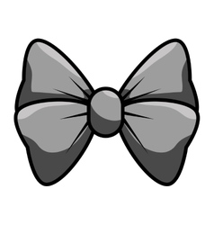 Bow cute female icon vector