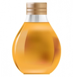 Little bottle vector