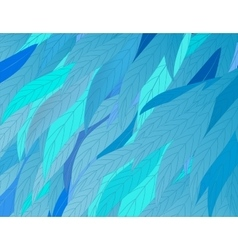 background-leaves vector image vector image