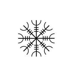 Galdrastafir icelandic symbol intertwined runes vector