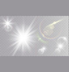 Light effects cosmic set vector