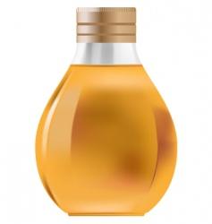 little bottle vector image