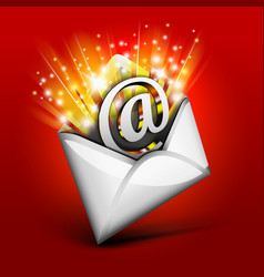 Magic email vector