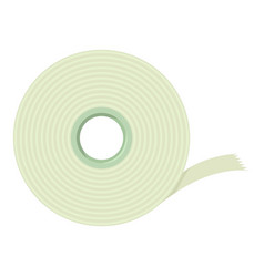 Scotch tape icon cartoon style vector