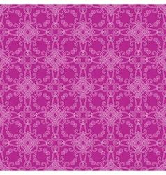 Seamless decorative wallpaper vector image