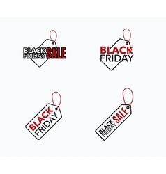 Black friday sale design template creative banner vector