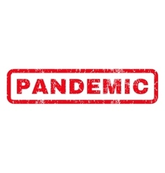 Pandemic rubber stamp vector