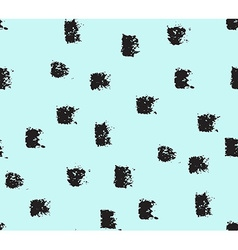 Seamless pattern hand drawn splashes background vector