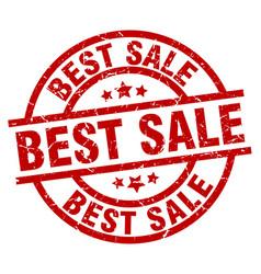 Best sale round red grunge stamp vector