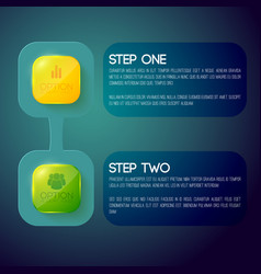 Business infographic concept vector