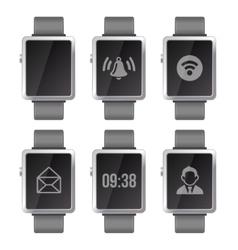 Smart Watch Set vector image vector image