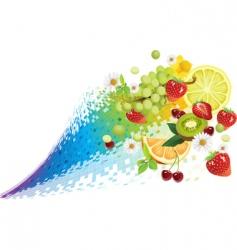 taste of summer vector image vector image