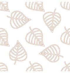 Seamless floral pattern Stylish repeating texture vector image