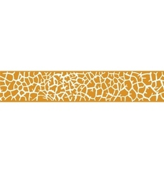 Background with giraffe skin vector