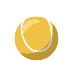 Tennis ball icon cartoon style vector