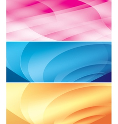 bright abstract backgrounds vector image vector image