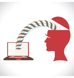 File transfer from head vector