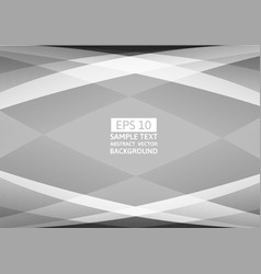 Gray and white color geometric abstract vector