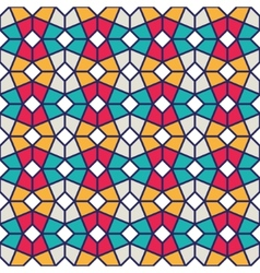 Intricated Geometric Pattern vector image