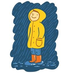 Rainy day vector image