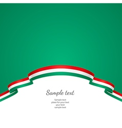 Flag background hungary vector