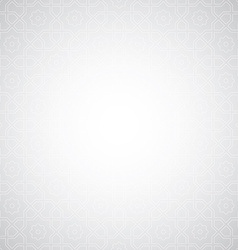 arabian pattern background vector image