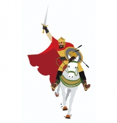 charging king vector image