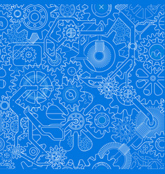 clockworks gear background vector image