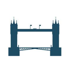 London bridge architecture vector