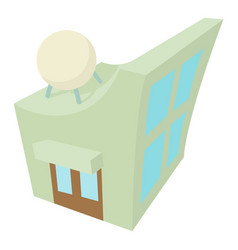 observatory icon cartoon style vector image