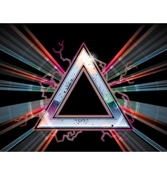 ROCK TRIANGLE vector image