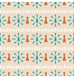 Seamless pattern of chess vector