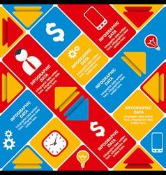Creative business info-graphics design concept vector