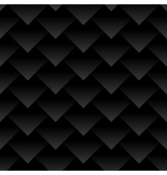 Carbon fiber triangles background Dragon skin vector image