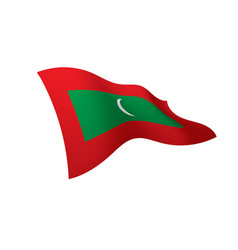 Maldives flag vector