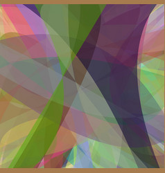 multicolored abstract background from curves - vector image vector image