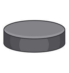 Washer for hockey icon cartoon style vector