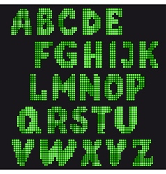 set of letters for design vector image