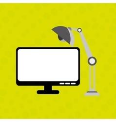 Office equipment design vector