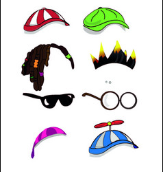 Character accessory vector