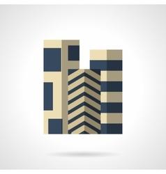 Floor carpets flat color icon vector