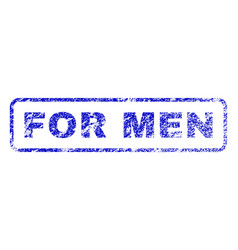 For men rubber stamp vector