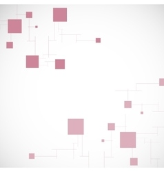 Background abstract texture with squares vector