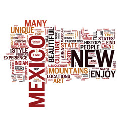 The albuquerque experience text background word vector