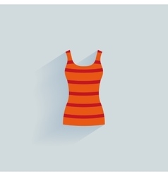 Abstract clothes object vector