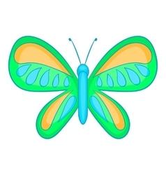 Butterfly with small wings icon cartoon style vector