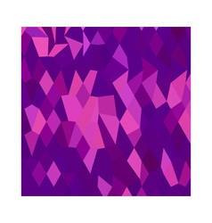 Thistle purple abstract low polygon background vector