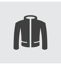 Jacket icon vector