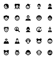 People Avatars-2 vector image