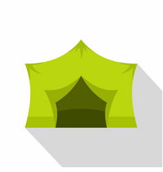 Camping equipment icon flat style vector